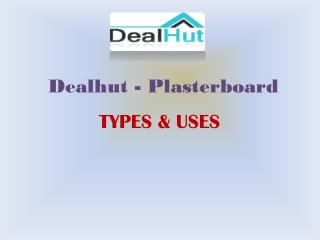 Dealhut - Cheap Plasterboard online