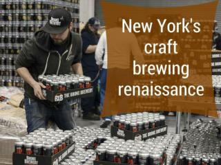 New York's craft brewing renaissance