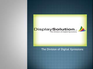 Display solution-Products is in