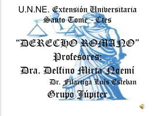 U.N.NE. Extensi n Universitaria Santo Tome - Ctes