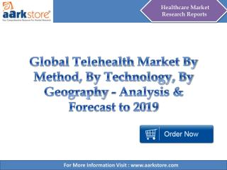 Global Telehealth Market - Analysis & Forecast to 2019