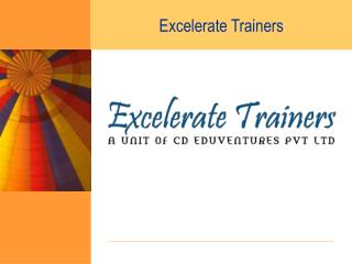 Excelerate Trainers