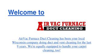 Duct Cleaning WI, Duct Cleaning Shell Lake WI, Air Duct Clea