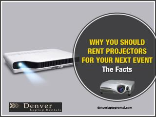 Importance of Projector Rental in Denver