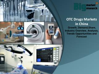China OTC Drugs Markets, Size, share, Growth & Demand