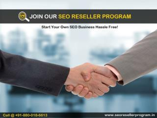 Join SEO Reseller Program