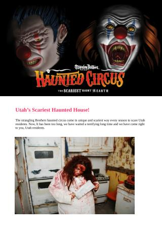 Utah haunted house