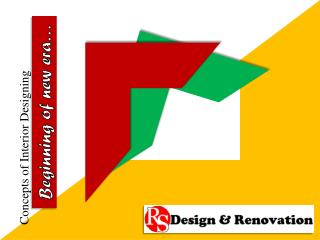 Concepts of Interior Designing - RS Design Malaysia