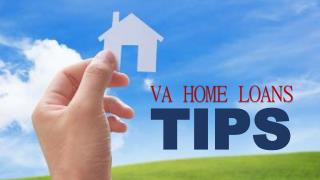 VA Home Loan Tips
