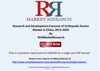 Global Orthopedic Device Market and Research Report to 2020