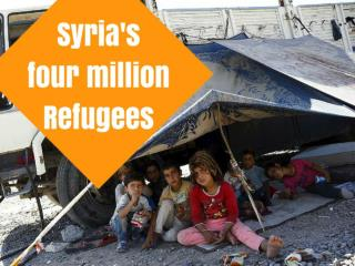 Syria's four million Refugees