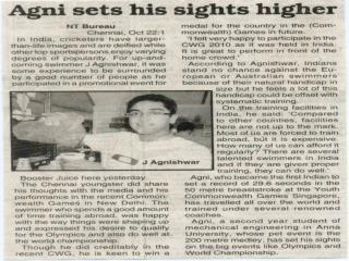 Agnishwar Jayaprakashin News Today'10