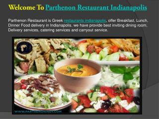 Parthenon Restaurant Greek indianapolis
