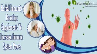 Herbal Immunity Boosting Supplements To Increase Immune Syst
