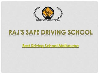 Driving Instructor Melbourne