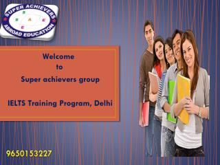 IELTS Training Program, Delhi