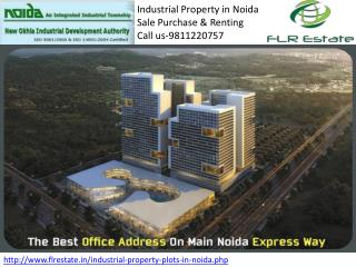 Industrial Property In Noida 9811220757, IT Plot for Sale Bu