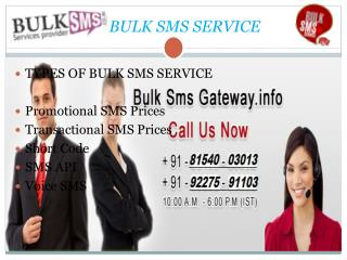 Bulk sms servic provider in gujrat