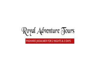 Padharo Jaisalmer for  2 Nights & 3 Days