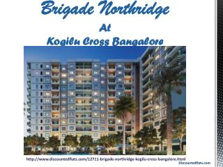 Buy Apartments in Brigade Northridge at Kogilu Cross