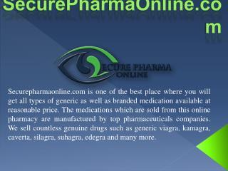 SecurePharmaOnline.com The Famous Online Pharmacy