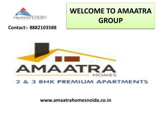 Reasonable Luxurious 2/3 BHK Flats By Amaatra Group