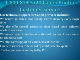 Canon Printer Drivers |1-800-819-5720| Tech Support Number