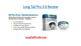Long Tail Pro 3.0 Review