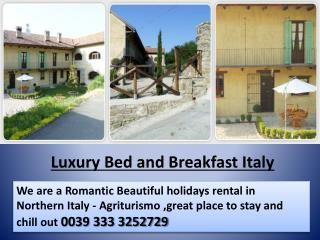 Bed and Breakfast Italy - Holiday Rental in Bergolo