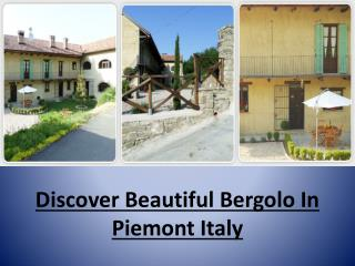Italy Holidays - Luxury Bed and Breakfast