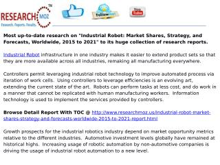 Industrial Robot: Market Shares, Strategy, and Forecasts, Wo
