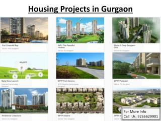 Housing Projects in Gurgaon