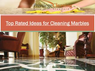 Top Rated Ideas for Cleaning Marbles