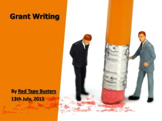 Grant Writing by Red Tape Busters