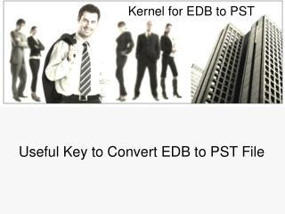 EDB to PST Migration Software