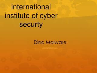Dino Malware