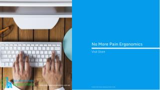 No More Pain Ergonomics - Product Catalogue