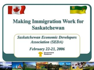 Making Immigration Work for Saskatchewan
