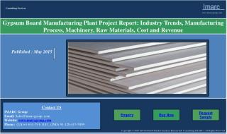Gypsum Board Market | Prices and Manufacturing Plant Report