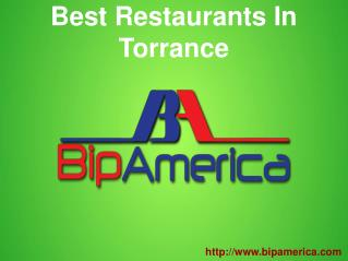 Best Restaurants In Torrance