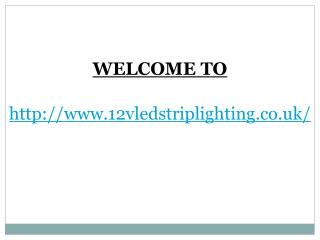 Tips To Purchase 12v LED Strip Lights