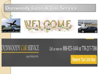 Dunwoody Taxi Service