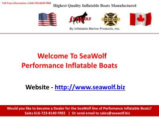 Inflatable Fishing Boat - SeaWolf.biz