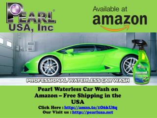 Pearl Waterless Car Wash on Amazon