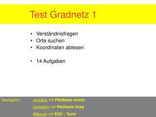 Test Gradnetz 1          .