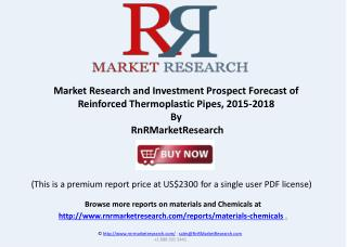 Reinforced Thermoplastic Pipes Review and Market in China, 2015-2018