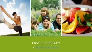 Family Therapy- Such a Technique to Stay Relaxed and HappyFamily therapy