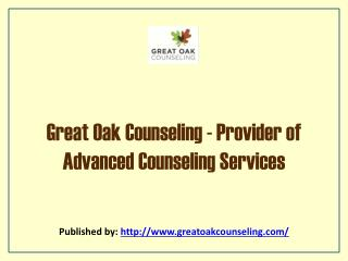Provider Of Advanced Counseling Services