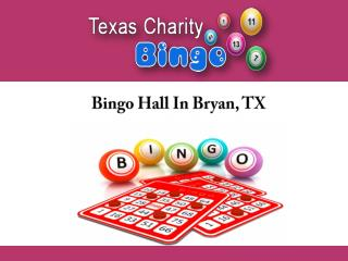 Bingo Hall In Bryan, TX