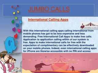 Cheap International Calling Service | International Pinless Calling